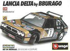 X7922 Lancia Delta S4 - Bburago - Pubblicità 1994 - Vintage advertising