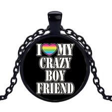 Pride Rainbow Free $10 Gift R1132 Black Necklace Women Men Pendant Gay Lgbt