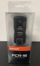 Neewer FCR-16 Multi-Channel 2.4GHz 3-IN-1 Wireless Hot Shoe Flash Receiver