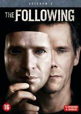 DVD - THE FOLLOWING  SEIZOEN 2  (KEVIN BACON)  (NEW SEALED)