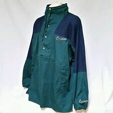 VTG Nike Air Pullover Jacket Anorak 90's Swoosh Coat 80's Colorblock Men XXL 2XL
