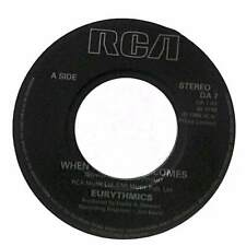 "Eurythmics - When Tomorrow Comes - 7"" Record Single"