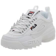 FILA DISRUPTOR 2 LEA/SYN WHITE/PEACT/VRED FW01655 111 MENS US SIZES