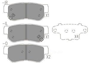 Disc Brake Pad Set-Premium Ceramic Pads Rear CFD863 fits 01-04 Hyundai Santa Fe