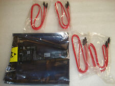 New ADAPTEC AAR-1420SA RoHS PCI-X SATA RAID CONTROLLER CARD w/ 4 Cables