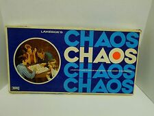 Vintage CHAOS 1971 Strategy Board Game By  #8319 Complete
