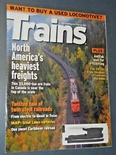 TRAINS THE MAGAZINE OF RAILROADING FEB 2012 WANT TO BUY A USED LOCOMOTIVE?