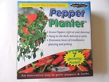 New Handy Trends Pepper & Herbs Planter with 7 Growing Ports