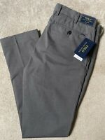 "RALPH LAUREN POLO GREY S CLASSICS SLIM FIT TROUSERS PANTS - 31"" - NEW & TAGS"