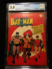 1945 DC Batman #32 CGC 3.0 Off White Pages