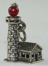 VINTAGE BEAU STERLING SILVER TALL LIGHTHOUSE CHARM