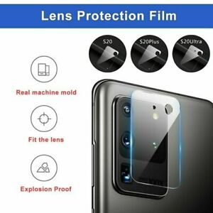 Tempered Glass 9D Camera Lens Protector For Samsung Galaxy S20 S10 5G NOTE 20