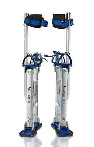 Installoo® Stelzen Profi-Line mit CE Größe L Arbeitsstelzen Handwerkerstelzen