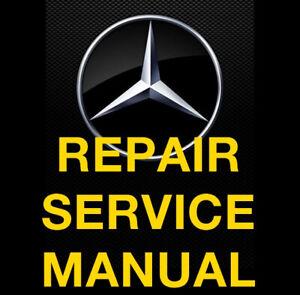 Mercedes Benz M Class W164 ML SUV 2009 2010 2011 FACTORY REPAIR SERVICE MANUAL