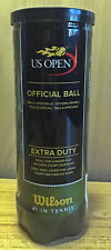 Wilson Us Open Official Championship Tennis Ball: Extra Duty; Container of Three
