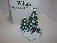Vintage Dept 56 Wagon Wheel Pine Grove