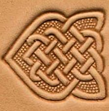 3D CELTIC ARROW KNOT LEATHER STAMP 88491-00 Tandy Stamping Tool Stamps Tools