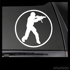 CS:GO Counter-Strike Go Logo Vinyl Decal!  Car Truck window sticker GAM-00041