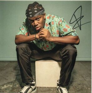 KSI Autograph - All Over The Place CD with Signed Insert - AFTAL