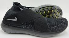 Nike Free Run Motion Flyknit Trainers 880845-003 Black/Grey UK10.5/US11.5/EU45.5