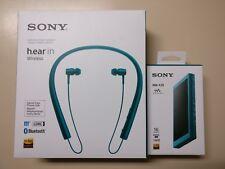 SONY NW-A35 LM viridian Blue w/ Sony h.ear in MDR-EX750BT. Worldwide shipping.