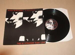 "Mark Stewart + Maffia - This Is Stranger Than Love, 12"" single UK 1987 Vg+/Vg+"