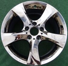 New Genuine OEM Factory BMW 128i 135i CHROME 18 in REAR WHEEL 36116787640 71366
