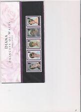 1998 ROYAL MAIL PRESENTATION PACK DIANA COMMEM WITH INSERT CARD DECIMAL MINT