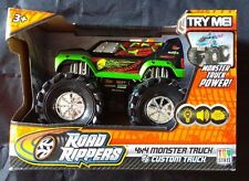 Road Rippers Monster Truck Toy Custom Wheelie Lights Sound New in Box 3+