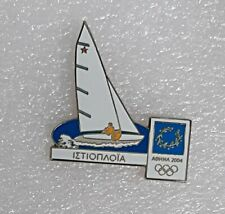 2004 Summer Olympics games Athens, Greece lapel pin badge