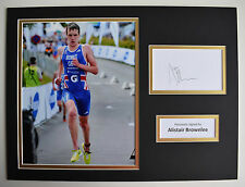Alistair Brownlee SIGNED autograph 16x12 photo display Olympic AFTAL & COA