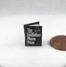 THE GODFATHER Dollhouse Miniature Book 1:12 Scale Readable Book