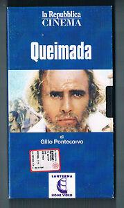 Film  VHSCassetta -  Queimada