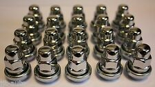 20 X M12 X 1.5 VARIABLE WOBBLY ALLOY WHEEL NUTS FIT KIA RETONA JEEP SORENTO