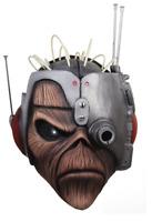 Trick Or Treat Iron Maiden Somewhere Time Eddie Halloween Costume Mask TTGM123