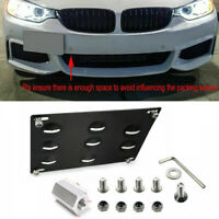 Front Bumper Tow Hook License Plate Mounting Bracket Holder fits BMW 1 3 X6 E82