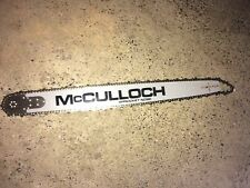 """MCCULLOCH 710,, 10-10, 850, 805, 700, 3/8"""", 28"""" BAR & CHAIN COMBO, ORIGINAL, NEW"""