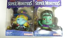 2 X Playskool Netflix Super Monsters Figures New in Package Katya & Frankie