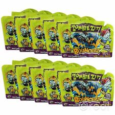 New 10 PACKS Zombie Zity Bouncerz Blind Bags Bouncy Micro Figures Official