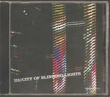 "U2 ""City of blinding lights"" US 2 Track Promo CD"