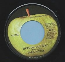 """Chris Hodge - Apple 1850 """"WE'RE ON OUR WAY"""" (GREAT ROCK N ROLL) FREE SHIPPING"""