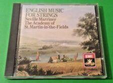English Music For Strings - CD 1986 - Neville Marriner