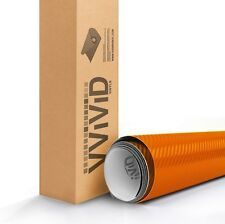 VViViD XPO Orange Dry Carbon 5ft x5ft Vinyl Car Wrap roll 3mil decal XPO quality