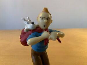 """Tintin and Snowy PVC Figure - 3"""" Height"""