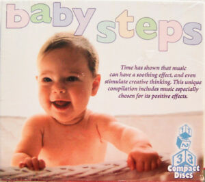 BABY STEPS 3-Pack (CD, 2002, Direct Source) BRAND NEW, Sealed!