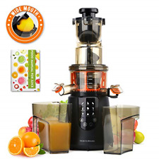 Masticating Juicer, Vestaware Slow Juicer Machines Large Chute Cold Press Juicer