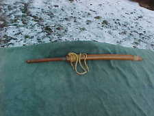 Vintage MONTAGNARDS Sword & Wooden Sheath Bring Back Souvenir From Vietnam War