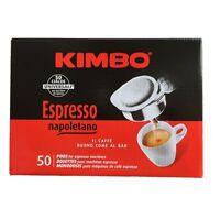 50 Kaffeepads Kimbo Espresso Napoletano Kaffee Coffee in einzelnen Paketen pads