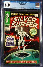 Silver Surfer #1, CGC 6.0, 1968 silver age, new slab