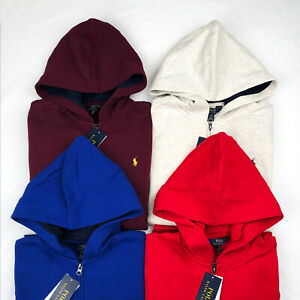 Polo Ralph Lauren Boy's Full Zip Fleece Hoodie Size L, XL
